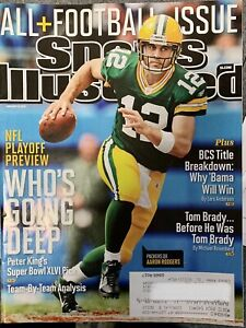 Green Bay Packers Aaron Rodgers Sports Illustrated Magazine
