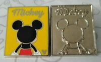 Mickey Mouse & Chaser Got Your Back 2018 Hidden Mickey DLR Disney Pin Set