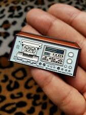 Limited Pioneer Ct-F1250 Stereo Vintage Cassette Deck Receiver Enamel Pins