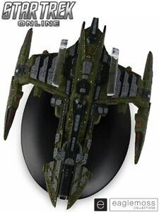 Eaglemoss Star Trek Online Mogh-class Klingon Battlecruiser Ship Replica New