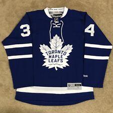 Reebok Auston Matthews Toronto Maple Leafs Nhl Hockey Jersey Blue Home S