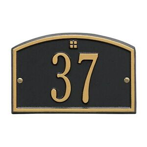 Whitehall PERSONALIZED Address Plaque Sign Numbers Cape Charles Petite