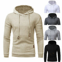 Mens Warm Jacket Outwear Jumper Hoodies Coat Sweater Hooded Pullover Sweatshirt