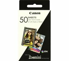 """More details for canon zoe mini 2 x 3"""" glossy photo paper - 50 sheets - currys"""