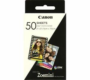 "CANON Zoe Mini 2 x 3"" Glossy Photo Paper - 50 Sheets - Currys"