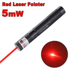10 Miles Military Red 5mw 532nm Laser Pointer Pen Light Visible Beam Burning WT