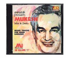 Bollywood Indian Movies Music Hindi Karaoke CD Aniruddh - Mukesh Solos & Duets