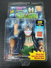 Spawn Series 1 CLOWN Action Figure sealed Package Blue Back