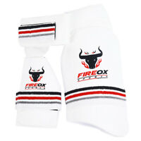 Cricket - Thigh Pad Set - Light Weight - Pro Level  - Left/Right - White