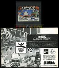 OLYMPIC GOLD Game Gear Versione Europea ••••• CARTUCCIA E MANUALE