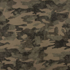 French Terry Sommersweat Camouflage Batik grün 1 50m