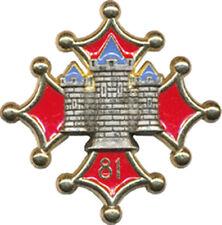 Sculpture Blason Croix du Languedoc en Pierre reconstitu/ée hydrofug/ée