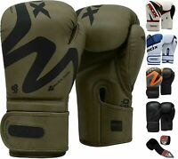 RDX Boxhandschuhe Boxsack Muay Thai Kickboxen Training Sparring Sandsack Boxen
