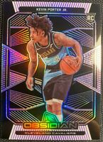 2019-20 Panini Obsidian Kevin Porter Jr Purple Electric ROOKIE 13/75 🔥🔥