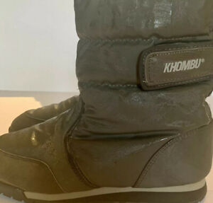 Women's Winter Khombu Boots. Size 10. Weather Proof With Style.