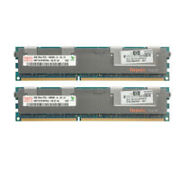 2PCS For Hynix DDR3 4GB 1333MHZ PC3-10600R 2RX4 ECC Reg-DIMM Server Memory RAM &