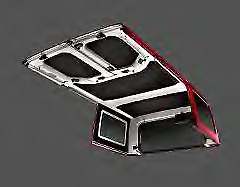 97-06 Jeep Wrangler Folding top Deck Closure Retainer Single Factory Mopar New