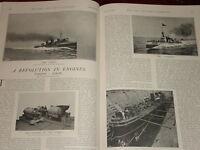 1901 ARTICLE REVOLUTION IN ENGINES TURBINE v SCREW NAVY