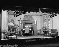 Photograph  Vintage Oldsmobile Showroom at Christmas Year 1922  8x10