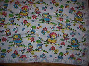 Handcrafted Tied Quilt Comforter Blanket Novelty Print Cotton Fabric Children