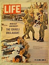 LIFE June 16 1967 Israel Six Day War, Israel founding, New Beatles sound T WHITE