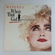 MADONNA Who's That Girl Soundtrack 125611 FutureDisc SRC LP Vinyl VG++