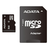 ADATA 8 GB CLASS 4 MICRO SD MEMORY CARD WITH ADAPTER FOR SMARTPHONE & TABLET