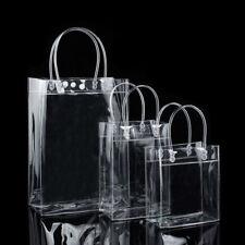 PVC Transparent Handbag Trendy Women Clear Tote Shoulder Bag Bags Beach