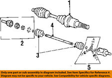 GM OEM-Front CV Axle Joint Boot 26018333