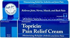 Topricin Pain Relief Therapy Cream 2 oz Headaches, Joint, Muscle, Nerve Pain