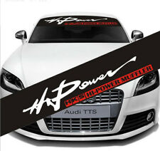 Auto Car Front Window Windshield Exterior Decal Sticker For HKS HI-Power MUFFLER