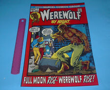 MARVEL FAMOUS COVERS WEREWOLF BY NIGHT #1 POSTER PIN UP
