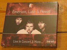 NEW/SEALED 2 CD Keith EMERSON, Greg LAKE & Cozy POWELL (ELP) Live in Concert