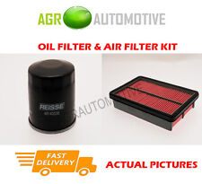 PETROL SERVICE KIT OIL AIR FILTER FOR MAZDA 323F 1.5 88 BHP 1994-98