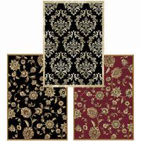 "Traditional Oriental Area Rug 5x8 Persien Scrolls Carpet - Actual 5' 2"" x 7' 2"""