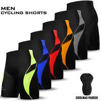 Mens Cycling Cycle Shorts Anti-Bac Coolmax Padded MTB Bicyle Short S to 2XL