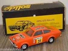 Opel Kadett GTE Rallye van Solido 70 France 1:43 in Box *18123