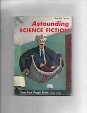 Astounding Science Fiction March 1955  Flying Carpet Cover!