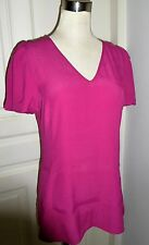 Choose Any 3 Items for $24 with this tag!Banana Republic Fushia V-neck Top, S