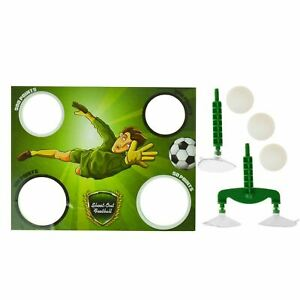 SHOWER FOOTBALL BATHTIME PENALTY SHOOT OUT CHILDREN ADULT GAME NEW