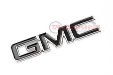 1 NEW CUSTOM CHROME & BLACK 1999-2013 GMC SIERRA YUKON TAILGATE LIFTGATE EMBLEM