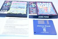 COMMODORE AMIGA GAME A500+/A600  GBH JAMES POND ( UNDER WATER AGENT )