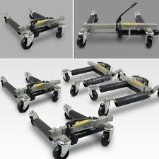 4 Stück PKW Rangierhilfe Rangierheber hydraulisch Wagenheber Auto Rangierroller