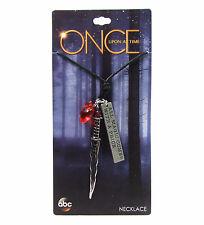 Disney ABC Once Upon A Time RUMPLESTILTSKIN DAGGER PENDANT NECKLACE Rumple OUAT