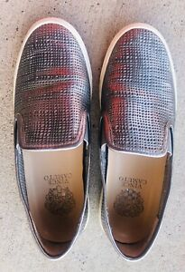 Vince Camuto Becker Slip on Casual Sneaker Womens Size 7.5 Pewter