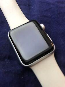 apple watch series 3 38mm silver aluminum