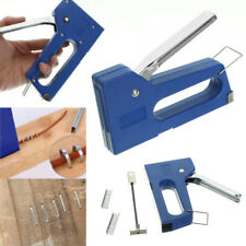 DIY Staple Gun Stapler Stapling Machine Kit w/ 100pcs 6mm Staples Craft Hobby