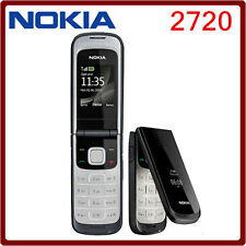 Practical Black Nokia 2720 Brand (UNLOCKED) Multiple Language GSM Cellular Phone