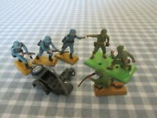 Britains Deetails WW11 German & American Soldiers & Sidecar Frame-Spares-Unboxed