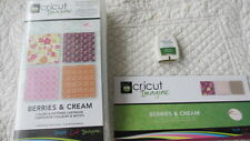 RETIRED CRICUT IMAGINE- BERRIES & CREAM COLORS & PATTERNS CARTRIDGE